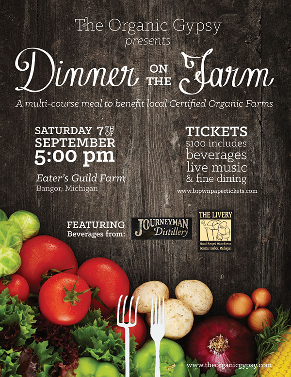 Organic Dinner on the Farm